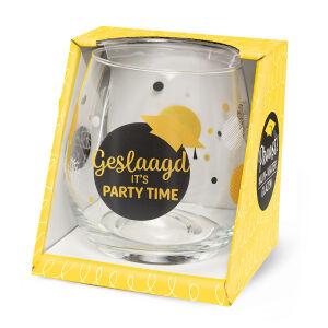 Waterglas Proost Geslaagd partytime