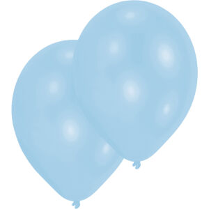 Ballonen latex baby blauw