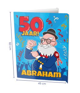 Window sign Abraham