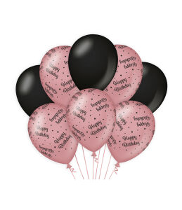 Ballonen Cheers to HB rosé/zwart