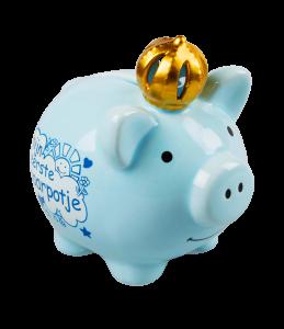 Piggy bank - boy spaarpot