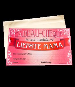 Gift Cheque - Mama