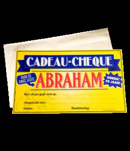 Gift Cheque - Abraham