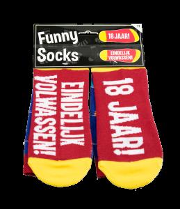 Funny socks - 18 jaar