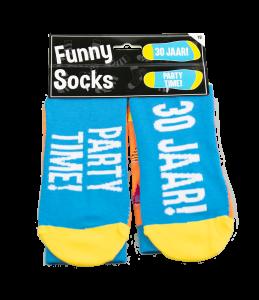 Funny socks - 30 jaar