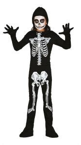 Jumpsuit skelet voor kinderen