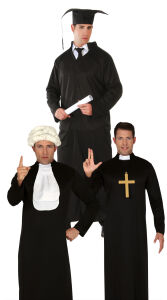 Student / Priester / Rechter - Heren kostuum