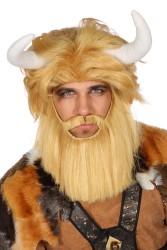 Pruik beest/viking