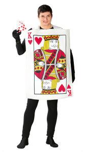 Koning Van Harten Kaart - Heren kostuum