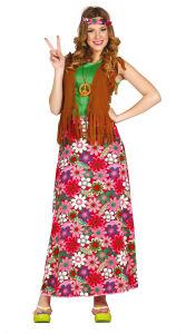 Gelukkige Hippy - Dames kostuum