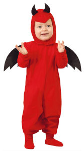 Baby duivel halloween kostuum