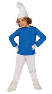 Blauwe smurf kostuum voor kinderen