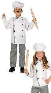 Kleine Chef kok kostuum voor kinderen