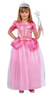 Jurk voor het prinsessen bal roze