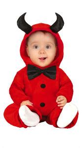 Kleine Duivel kostuum voor baby's