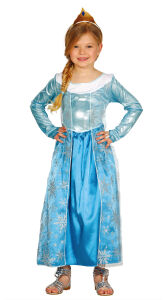 Ijsprinses Elza jurk voor meisjes