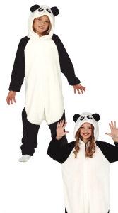 Panda kostuum voor kinderen