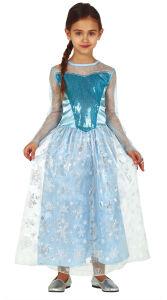 Sneeuwprinses Elza jurk voor meisjes