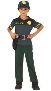 Spaanse politie agent kostuum voor kinderen