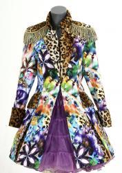 Carnavalsjas ''Panterbird'' lang model voor dames