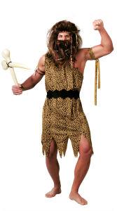 Holbewoner kostuum dierenvel voor heren