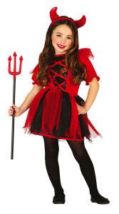 Kostuum duiveltje voor meisjes