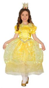 Jurk voor sprookjesprinses geel