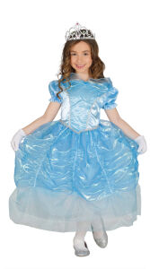 Prinses van het zwanenmeer jurk voor meisjes