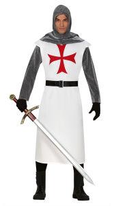 Middeleeuwse Ridder Kostuum voor Heren