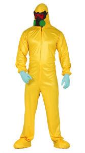 Breaking bad chemisch pak voor volwassenen