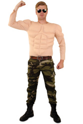 Bodybuilder shirt lange mouw heren