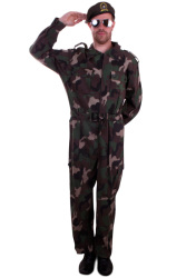 Overall camouflage heren