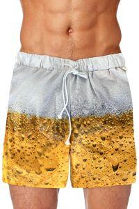 Bier zwembroek heren