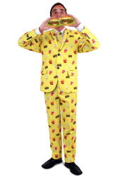 Kostuum voor Heren - Fast Food kostuum