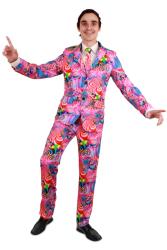 Disco kostuum 3-delig heren