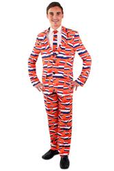 Pak voor Heren ''Holland Oranje'' - 3-delig