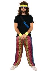 Trainingsbroek neon panter unisex