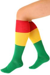 Sokken rood/geel/groen
