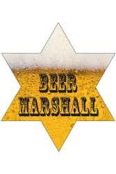 Sheriffster bier Marshall met lampjes