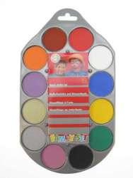 Schminkpallet Aqua 12 kleuren