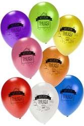 Ballon voor Helium Welkom Thuis 8 stuks