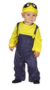Minion baby kostuum