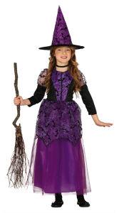 Lilac Heks Van Het - Meisjes kostuum