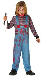 Bezeten pop kostuum voor kinderen