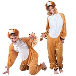 Dierenkostuum ''Leeuw'' - familie maten