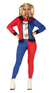 Harley Quinn kostuum voor dames