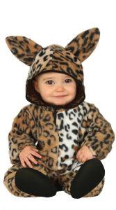 Luipaard baby kostuum