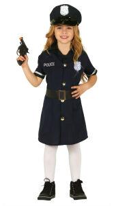 Police kostuum voor meisjes