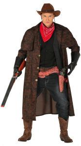 Lange cowboy jas voor heren