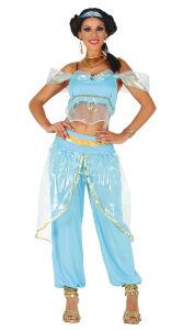 Arabische Prinses kostuum voor Dames - lichtblauw